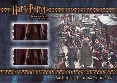 Harry Potter Sorcerers Sorcerer's Stone Filmcard Cell Hagrid in Diagon Alley