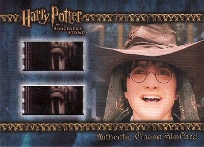 Harry Potter Sorcerers Sorcerer's Stone Filmcard Cell Harry being Sorted