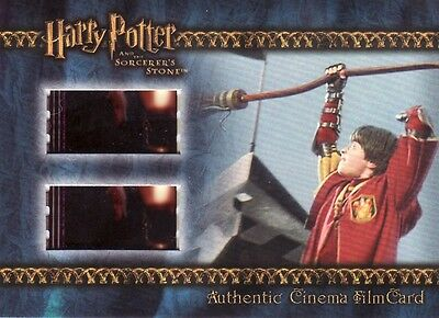 Harry Potter Sorcerers Sorcerer's Stone Filmcard Cell Harry playing Quidditch