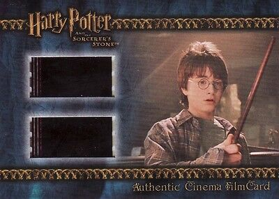 Harry Potter Sorcerers Sorcerer's Stone Filmcard Cell Harry With New Wand