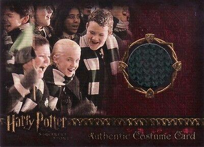 Harry Potter Sorcerers Sorcerer's Stone Draco Malfoy's Scarf Costume Card a