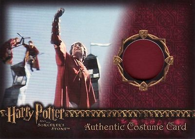 Harry Potter Sorcerers Sorcerer's Stone Harry Potter Red Quidditch Costume Card