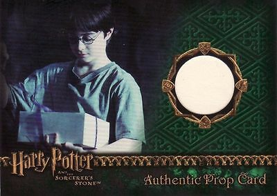 Harry Potter Sorcerers Sorcerer's Stone Cake Box Prop Card