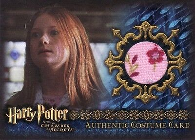 Harry Potter Chamber of Secrets CoS Ginny Weasley C16 Costume Card