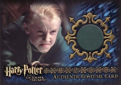 Harry Potter Chamber of Secrets CoS Draco Malfoy C13 Costume Card