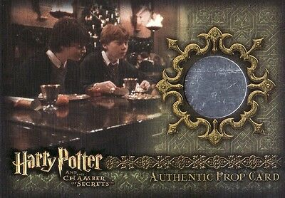 Harry Potter Chamber of Secrets CoS Christmas Crackers P10 Prop Card