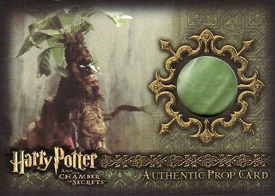 Harry Potter Chamber of Secrets CoS Green Variant Mandrake P5 Prop Card