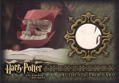 Harry Potter Chamber of Secrets CoS Howler P2 Prop Card