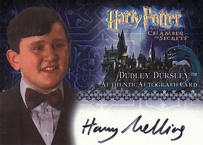Harry Potter Chamber of Secrets CoS Harry Melling / Dudley Dursley Auto