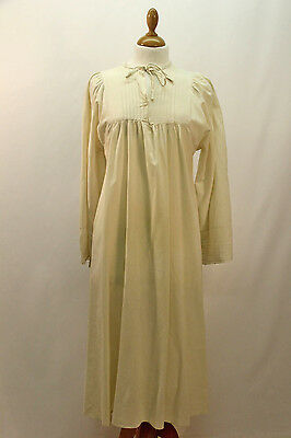 Victorian Style Cream Night Dress