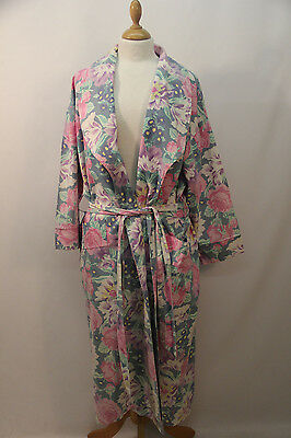 Laura Ashley Patterned Cotton Dressing Gown