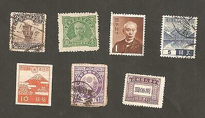 China and Japan Earlier Issues Mint and Used Mixed Lot