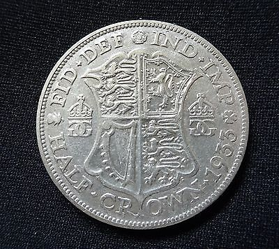1933 George V Half-crown silver coin - lovely coin