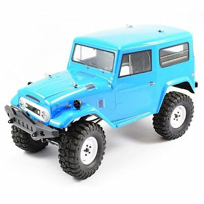 Ftx Outback Tundra 4X4 1/10Th Scale Rc Rock Crawler Rtr Inc. Batt/charger