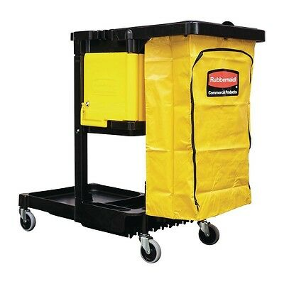 Rubbermaid Cleaning Trolley cleaners housekeeping cart maid service utility