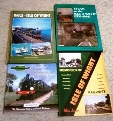 Four Great Railway Books Of The Isle Of Wight