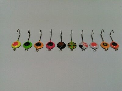 Ice Fishing Lures Tackle Lot New 10 Jig Lot