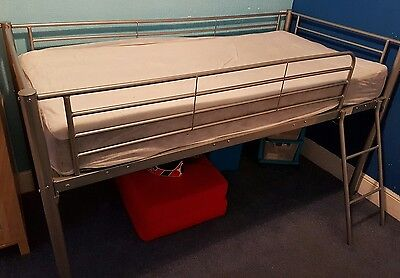 metal mid sleeper bed frame collect from westcliff