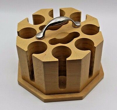Wooden Poker Chip Caddy
