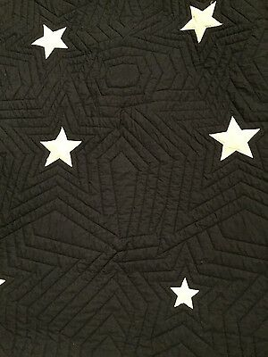 quilted star throw