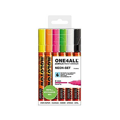 MOLOTOW™ ONE4ALL 127HS Neon-Set