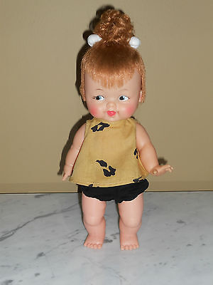 "1964 Tiny Pebbles Doll 11.5""  Ideal Complete Nice"