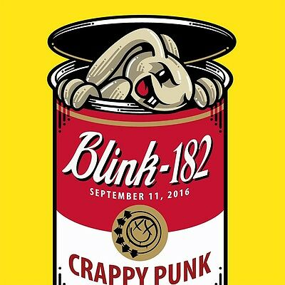 Blink 182 - St. Louis / Maryland Heights, MO Poster - 9/11/2016