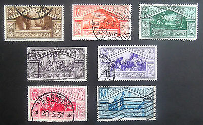 Italy-1930-Birth Bimillenary of Virgil-Partial set to 1.25L-Used