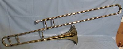 Collegiate Holton Brass Trombone serial 876177  TR602 w/case