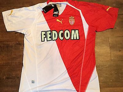 2003 2004 Monaco BNWT New Home Football Shirt Adults XL Maillot