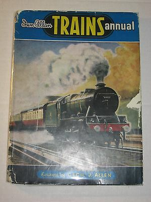 Railwayana - Vintage 1951 Trains Annual - Ian Allan