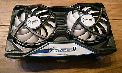 ARCTIC Accelero Twin Turbo II - Graphics Card Cooler for Nvidia and AMD