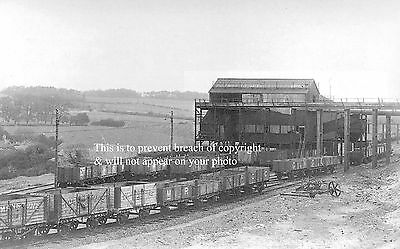 Photo Of East Kent Railway Trucks Being Loaded At Tilmanstone Colliery