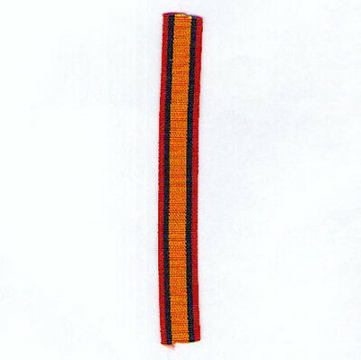 Queen's South Africa Medal 1899-1902 miniature ribbon 12 inch (30cm)