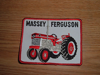 Vintage Massey Ferguson Embroidered Tractor Patch