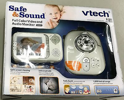 VTech VM321 Safe & Sound Video Baby Monitor with Night Vision BRAND NEW SEALED