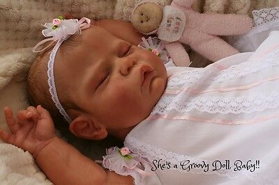 """a Groovy Doll, Baby!"" Reborn Baby Girl*so Realistic*evelyn Brace"
