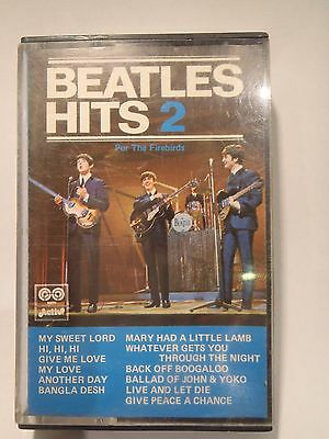cassette tape cinta The Beatles hits 2 for the Firebirds. AUVI . 1975