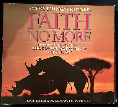 Faith No More Everything Is Ruined 2 CD Limited Edition U.K. OOP