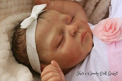 """a Groovy Doll, Baby!"" Reborn Baby Girl*so Realistic*charlotte Johnston"