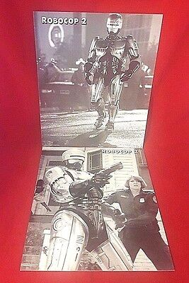 "2 ROBOCOP 2  14"" x 11"" Promotional Photos Stills Rare 90's Sci-fi Action Movie"