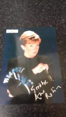 genuine signed photo of Anne Robinson