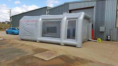 Commercial Dust Inflatable Workshop Spray Booth Tent Bodywork