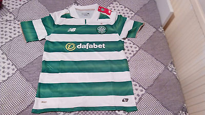 Celtic Glasgow Home Football Shirt 2016/2017 Size M