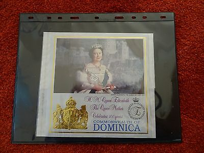 Very attractive miniature sheet from Dominica. 1995. SG MS1997
