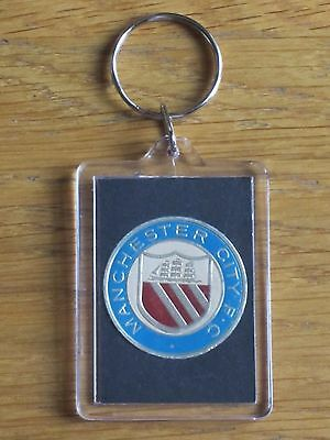 MANCHESTER CITY - Vintage & Rare 1971 Club Crest Key Ring