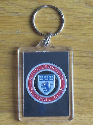 MIDDLESBROUGH - Vintage & Rare 1971 Club Crest Key Ring