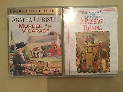 Audio Books  Passage To India  Murder At The Vicarage A Woman Of Substance L@@k