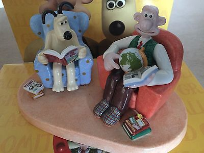 Coalport Wallace and Gromit-We'll go somewhere  -LIMITED EDITION - 0509 /2000