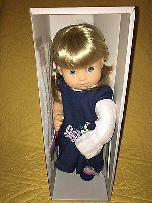 New In Box Single Bitty Twin Blond Girl Sold Out Blonde American Girl